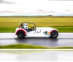 Track car at Llandow Circuit